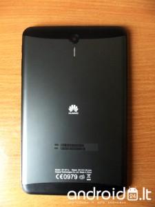 Huawei MediaPad 7 Vogue galinė dalis