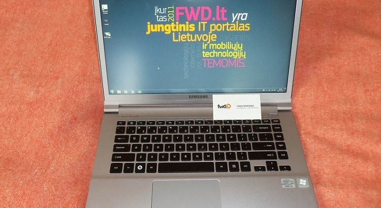 Samsung Series 9 Ultrabook'as