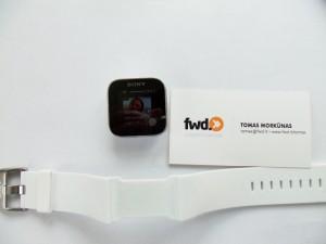 sony Smart Watch apyrankė